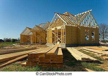 indústria, construção