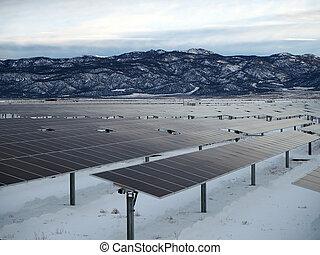 indústria, poder solar