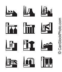 industrial, jogo construção