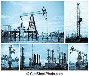industry., óleo