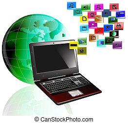 inovador, tecnologia, computadores