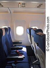 interior, avião