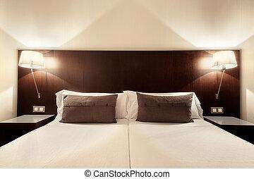 interior, quarto, modernos, desenho
