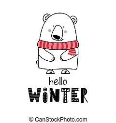 inverno, olá