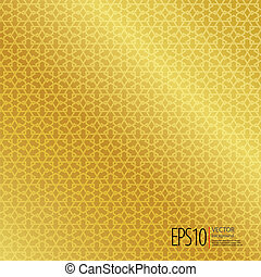islamic, seamless, fundo