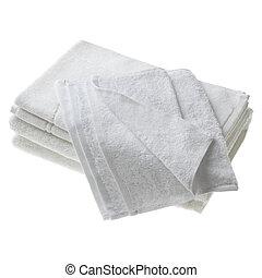 isolado, toalhas
