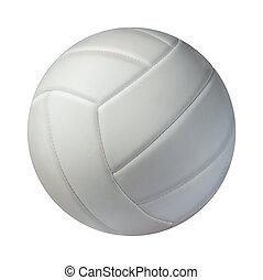 isolado, voleibol