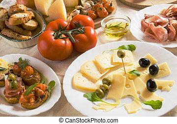 italiano alimento, aperitivo