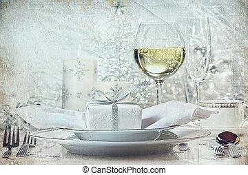jantar, feriados, armando, prata, festivo