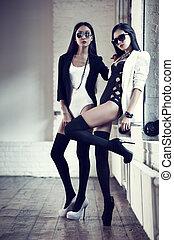 japoneses, moda, mulheres jovens
