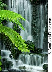 jardim, cachoeiras