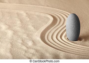 jardim, forma, zen, relaxamento, symplicity, saúde, harmonia, fundo, meditação, equilíbrio