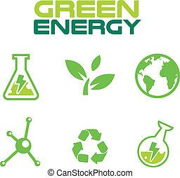 jogo, cofre, terra verde, pensar, ícone