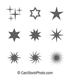 jogo, estrelas