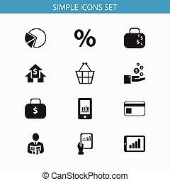 jogo, gráfico, dinheiro, torta, usado, símbolos, analytics, infographic, design., ser, smartphone, editable, teia, inclui, icons., tal, more., móvel, 12, ui, lata, saco