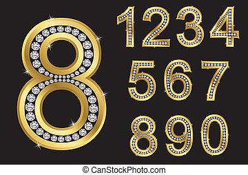 jogo, número