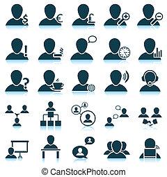 jogo, pessoas, ícone