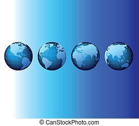 jogo, série, global, -, vetorial, mundo