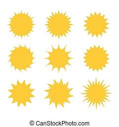 jogo sol, ícones