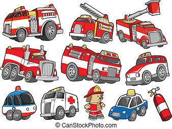 jogo, transporte, salve veículo