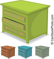 jogo, verde, gabinete