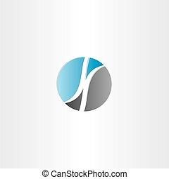 k, vetorial, desenho, letra, logotipo, círculo
