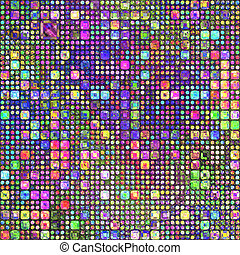 lápis cor, patternl