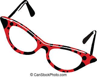 ladybug, óculos