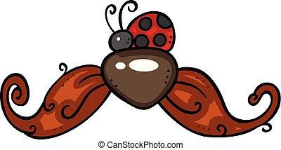 ladybug, bigode