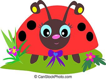 ladybug, olhos