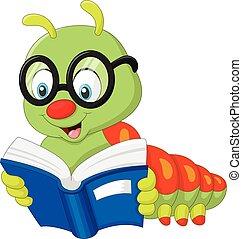 lagarta, livro leitura
