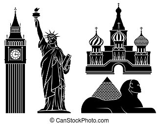 landmarks.