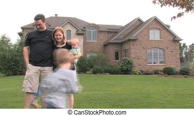 lar, 3, luxo, família