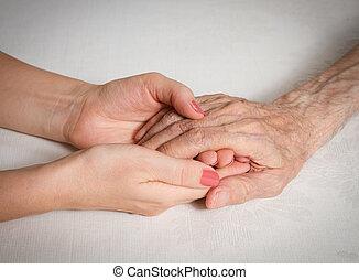 lar, cuidado idoso