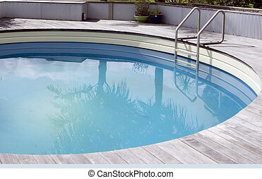 lar, piscina, natação