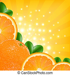 laranja, cartaz