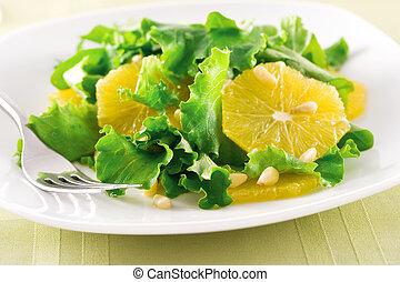laranja, salada