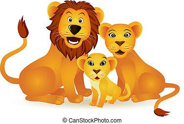 leão, família