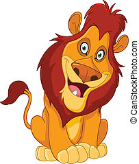 leão, feliz