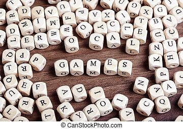 letra, jogos, -, dices, palavra