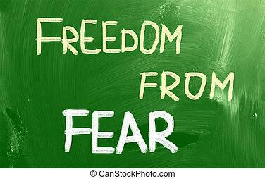 liberdade, medo, conceito