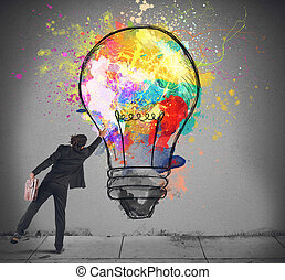 lightbulb, cores