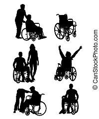 limitou, cadeira rodas