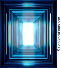 linhas azuis, fundo