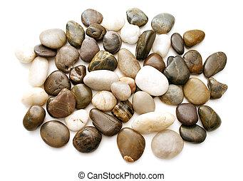 liso, 3, pedras praia