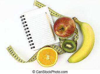 livro, dieta