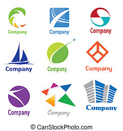 logotipo, amostras, desenho
