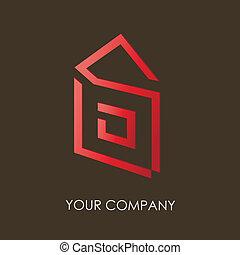 logotipo, companhia, desenho, v.2