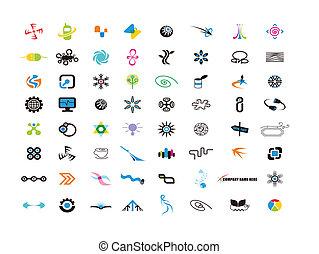 logotipo, elementos, desenho, desenhista