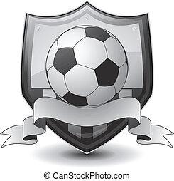 logotipo, futebol, emblema